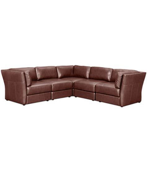 5 piece modular sectional sofa ramiro leather modular sectional sofa 5 piece 3 square
