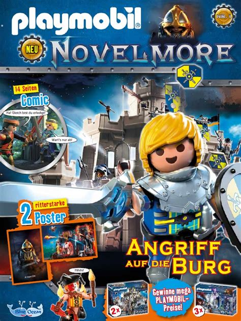 blue ocean entertainment playmobil novelmore