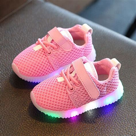 toddler light up boots luminous sneakers light up shoes children led