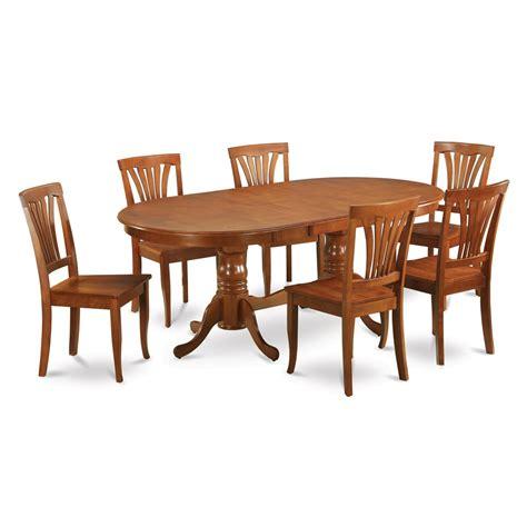 wood pedestal dining table set east west furniture plav plainville double pedestal table