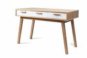 Bureau Design En Bois Scandinave Helia