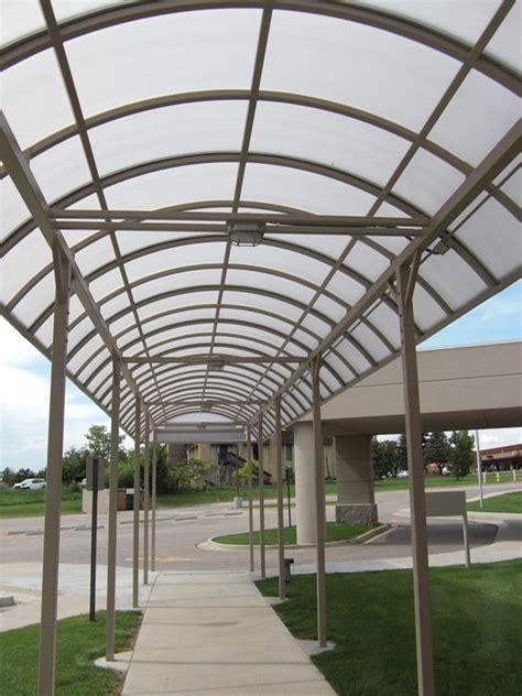 metal entrance canopy hh metals spivak vision center