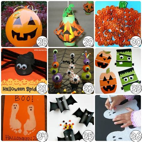 75 craft ideas for 608 | 75 Halloween Craft Ideas for Kids ghosts 4
