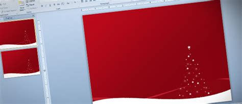 holiday christmas powerpoint templates