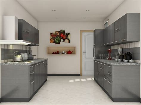 7 Best Images About Parallel Shaped Modular Kitchen