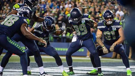 seattle seahawks touchdown celebrations