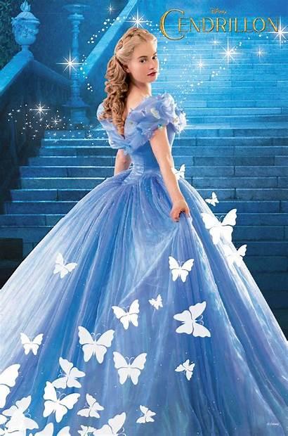 Cinderella Disney Lily James Princess Walt Action
