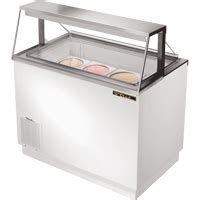 ice cream dipping cabinets and freezers by true refrigeration