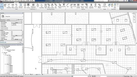 Electrical Plan Revit by Revit For Mep Electrical Lighting Systems Circuits