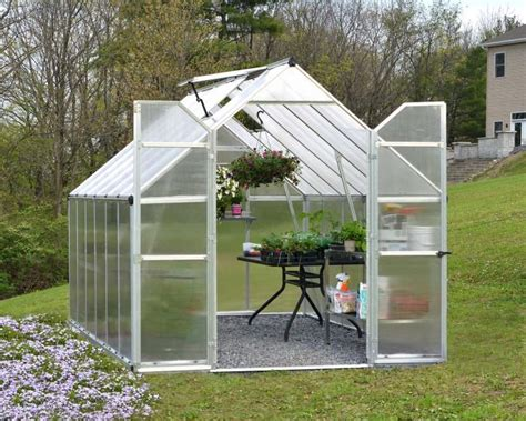 essence greenhouse 8x12 palram polycarbonate greenhouses grizzly translucent slide previous shelter frosted
