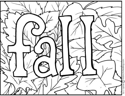 fall color pages 4 free printable fall coloring pages preschool fall
