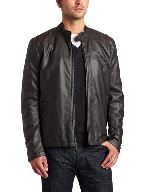 jacket moto fashionable mens leather jackets