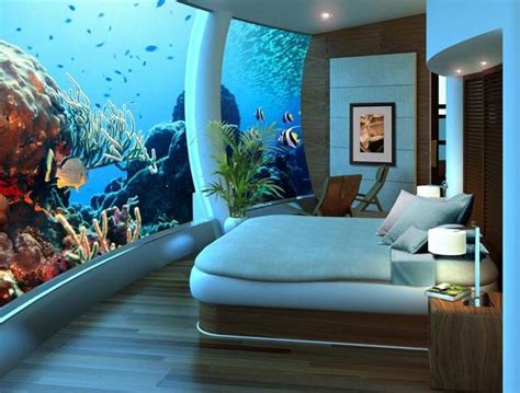 Overwater Bungalow? Try An Underwater Bungalow! Points