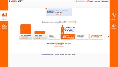 plafond virement ing direct avis test et 233 valuation de la banque en ligne ing direct