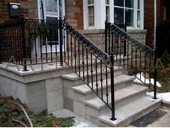Outdoor Metal Handrails For Stairs by Gallery For Outdoor Wrought Iron Railing Designs