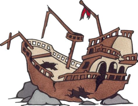 animated wrecked wreck clipart boat pencil and in color wreck clipart boat