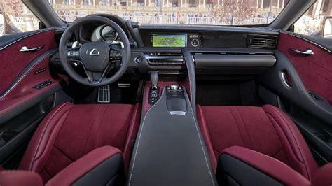 lexus lc  coupe price interior specs toyota