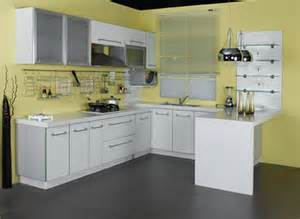 Small Kitchen Colors with White Cabinets