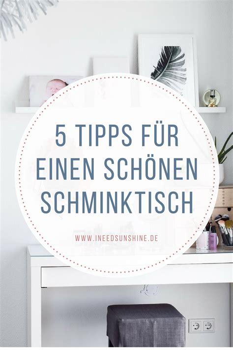 Deko Für Schminktisch by Schminktisch Ideen 5 Tipps F 252 R Aufbewahrung Deko