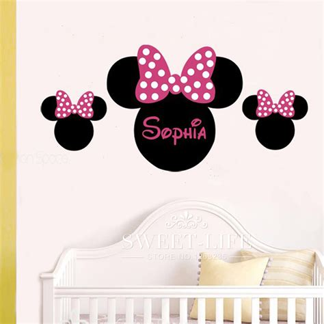 stickers chambres b chambre deco minnie buy wholesale disney stickers from