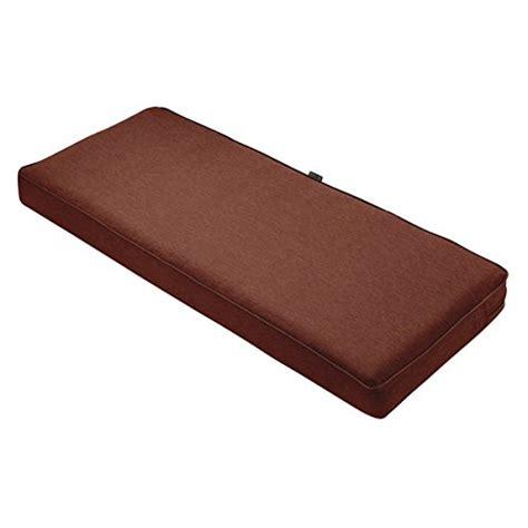 classic accessories montlake bench cushion foam slip