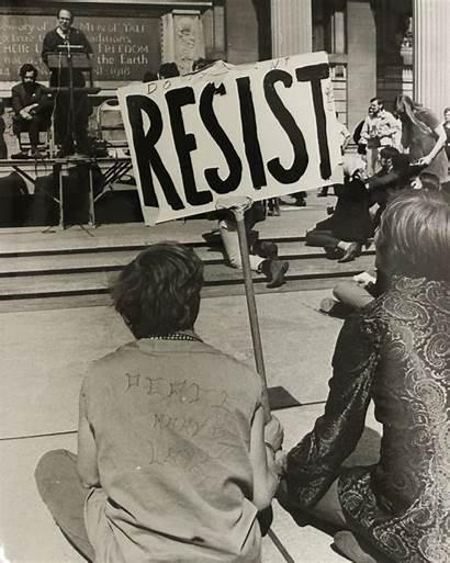 Draft Resistance Rally Vietnam 1968 War Yale