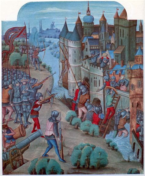 castle siege use and impact of cannons in late sieges askhistorians