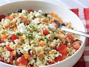 Mediterranean Orzo Pasta Salad Recipe Smart Balance