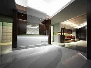 Hotel Reception Interior Design — NKD