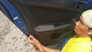 Aca    Lancer Ex    Rear Door Panel Removal