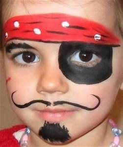 Face painting for pirate party | Kid Holiday {Pirate Day ...