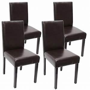 Freischwinger Stuhl Leder Braun : 4x esszimmerstuhl stuhl littau leder kunstleder helle dunkle beine ebay ~ Bigdaddyawards.com Haus und Dekorationen