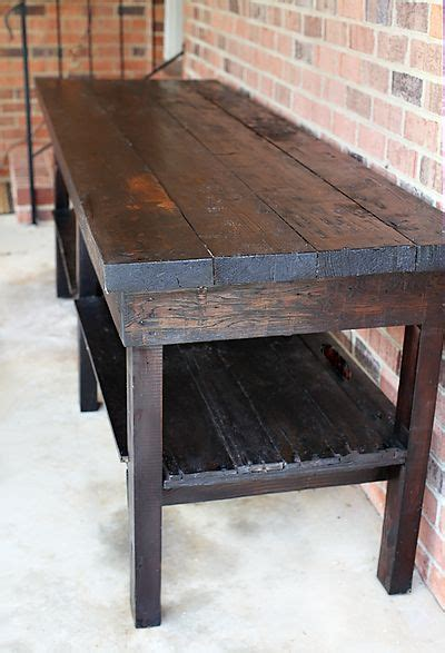 semi diy table  house   left description