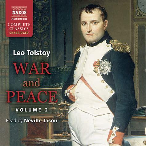 peace war volume unabridged ii audio sample naxos naxosaudiobooks