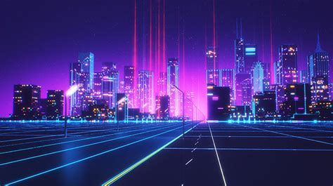 Short 80s Style Animation By Florian Renner