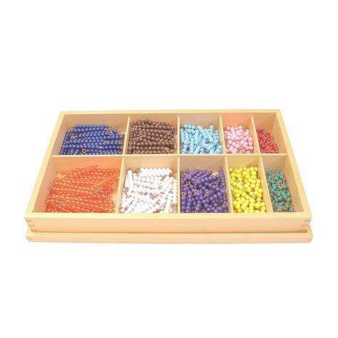 boite de rangement perles montessori store