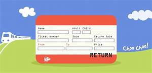 a printable set of uk train ticket templates there are 8 With train ticket template word