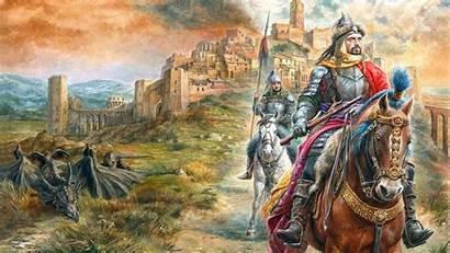 Knight Fantasy Wallpapers Desktop Backgrounds Computer на