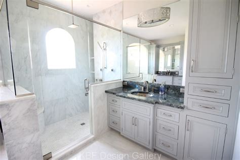 Bathroom Design Gallery by Marble Tile Master Bath Kbf Design Gallery