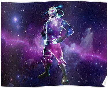 fortnite galaxy skin poster products   epic