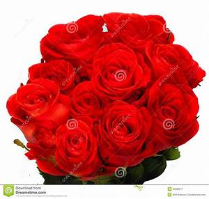 Beautiful Bouquet Of Red Roses Royalty Free Stock ...