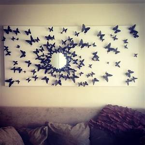 Create your own butterfly wall art with umbra chrysalis