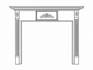 Stirling Natural Wood Mantels For Fireplaces