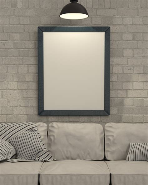 Photo Frames On Wall Empty Picture Frame On Wall Photo Free Download