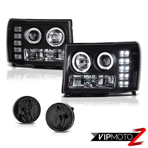 led daytime projector headlight driving foglights 2013