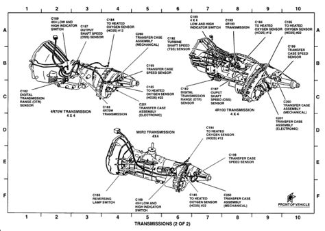 1998 Ford F150 Automatic Transmission Diagram by 2005 Ford F150 Transfer Problems