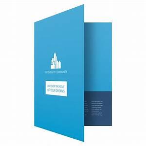Eco Real Estate Pocket Folder  U0026 Brochure Template