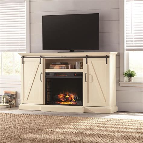 electric fireplace tv stands home decorators collection chestnut hill 68 in tv stand