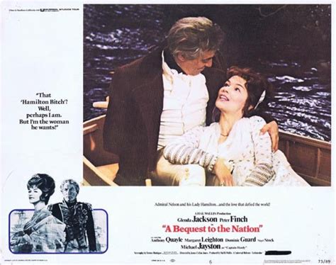 BEQUEST TO A NATION 1973 Peter Finch Glenda Jackson Lobby ...