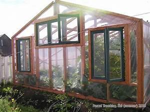 Fabriquer Une Serre En Bois : construire une serre adoss e serre hydropique plan ~ Melissatoandfro.com Idées de Décoration